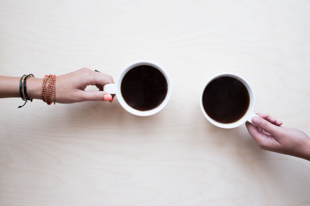 First date etiquette coffee