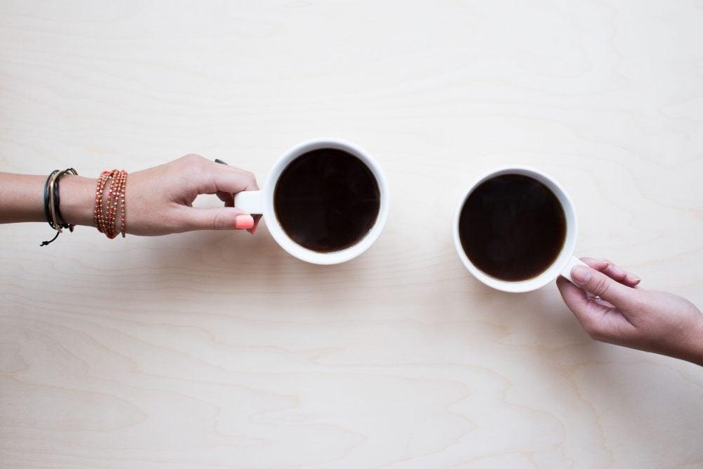 First date etiquette coffee